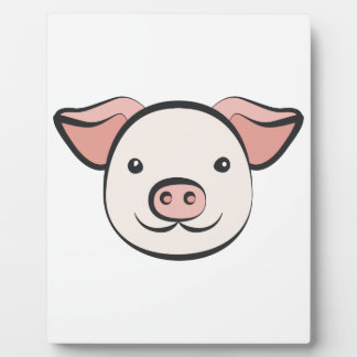 Cute Pig Plaque
