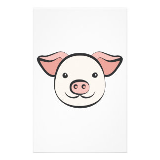Cute Pig Stationery