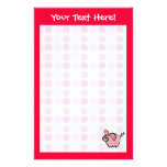 Cute Pig Stationery Paper