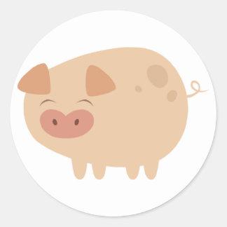 Cute Pig Stickers