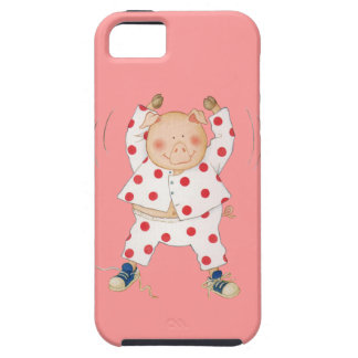 Cute Piggy Exercising Case For The iPhone 5