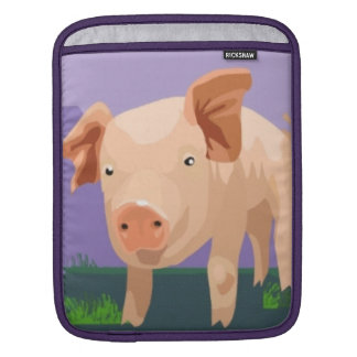 Cute Piggy iPad Sleeve