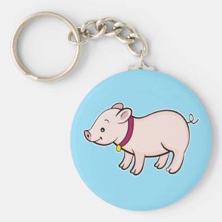 Cute Piggy Keychain