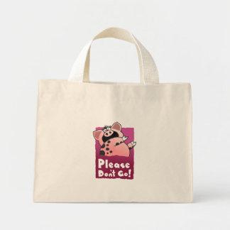Cute Piggy Mini Tote Bag