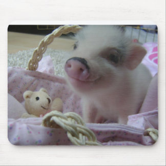 Cute Piglet Mouse Pad
