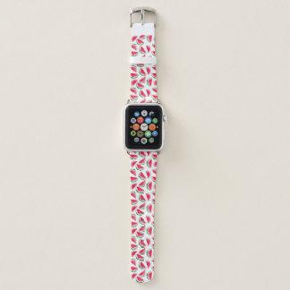 Cute Pineapple & Watermelon Pattern Apple Watch Band