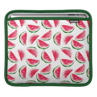 Cute Pineapple & Watermelon Pattern iPad Sleeve