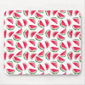Cute Pineapple & Watermelon Pattern Mouse Pad