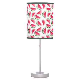 Cute Pineapple & Watermelon Pattern Table Lamp