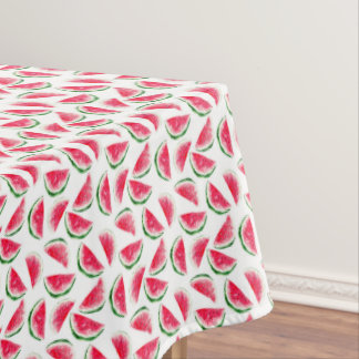 Cute Pineapple & Watermelon Pattern Tablecloth