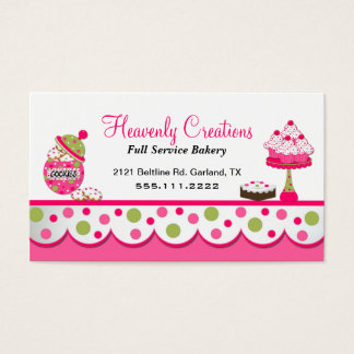 Home Bakery Business Cards and Business Card Templates  Zazzle Canada