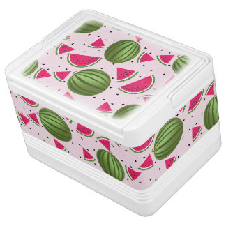 Cute pink and Green watermelon pattern