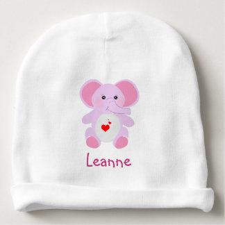 Cute Pink baby Elephant for newborn baby girl Baby Beanie