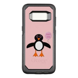 Cute Pink Baby Girl Penguin Phone Case