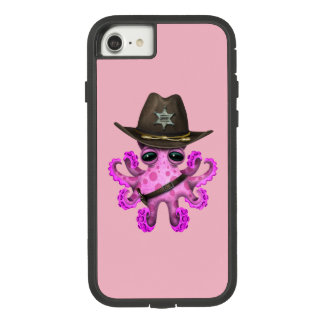 Cute Pink Baby Octopus Sheriff Case-Mate Tough Extreme iPhone 8/7 Case