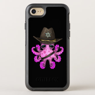 Cute Pink Baby Octopus Sheriff OtterBox Symmetry iPhone 8/7 Case