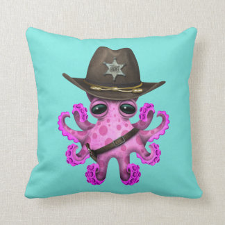 Cute Octopus Decorative Pillows Zazzle.ca
