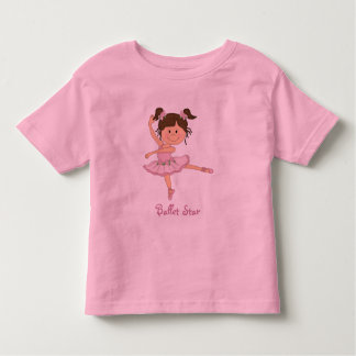 Cute Pink Ballerina 1 Ballet Star T-shirts