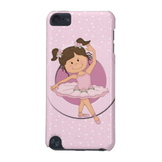 Cute Pink Ballerina 4  iPod Touch (5th Generation) Cover