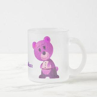 Cute Pink Bear Mug