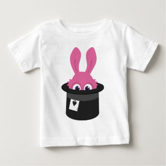 Cute pink bunny for Happy Easter Baby T-Shirt