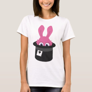 Cute pink bunny for Happy Easter T-Shirt
