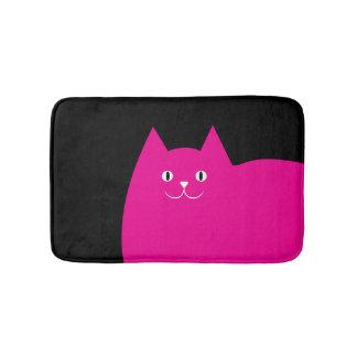 Cute Pink Cat Bath Mat