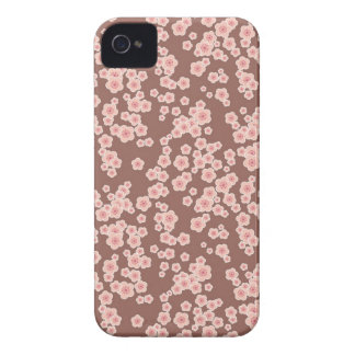 Cute pink cherry blossoms pattern iphone 4 case