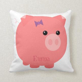 Cute Pink Chubby Pig Pillow