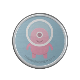 Cute Pink Cyclops Alien Bluetooth Speaker