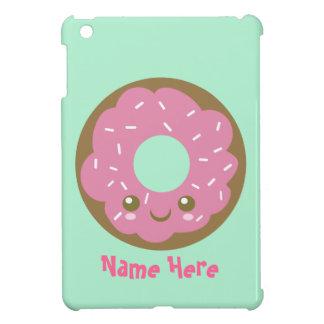 Cute Pink Donut iPad Mini Covers