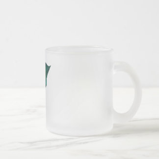 Cute Pink Dragon Frosted Glass Mug