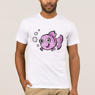 Cute Pink Fish T-Shirt