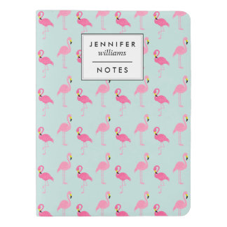 Cute Pink Flamingos Extra Large Moleskine Notebook