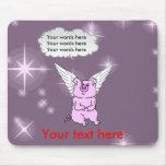 Cute Pink Flying Pig