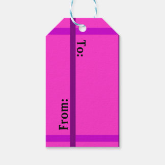 Cute Pink Gift Tags Pack Of Gift Tags