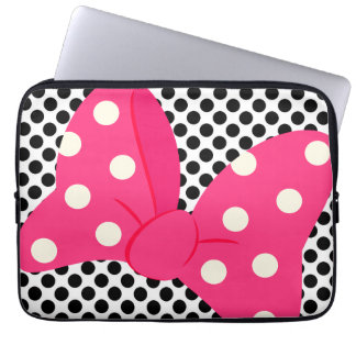 Cute Pink Girly Laptop Sleeve