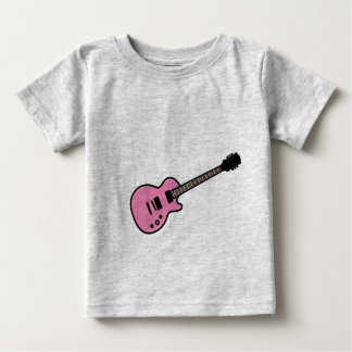 Cute Pink Guitar T-Shirt for Baby Toddler Kids