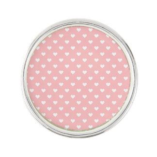 Cute Pink Heart Pattern Lapel Pin