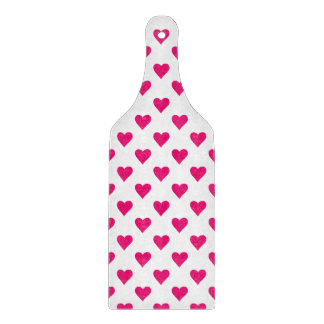 Cute Pink Heart Pattern Love Boards