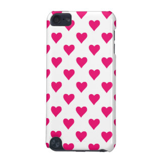 Cute Pink Heart Pattern Love iPod Touch 5G Cover