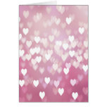 Cute Pink Hearts Greeting Cards