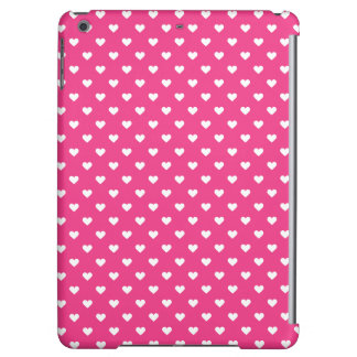 Cute Pink Hearts Pattern Case For iPad Air