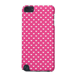Cute Pink Hearts Pattern iPod Touch (5th Generation) Cover