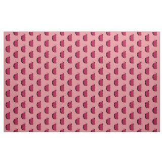 Cute Pink Ladybugs Fabric