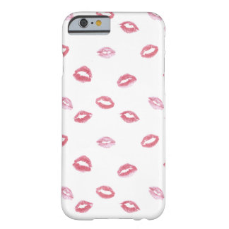 Cute Pink Lipstick Patter on Case