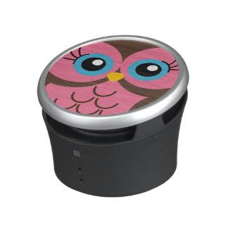 Cute Pink Owl Speaker