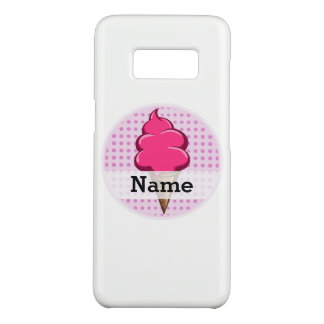 Cute pink personalized ice cream for girls Case-Mate samsung galaxy s8 case