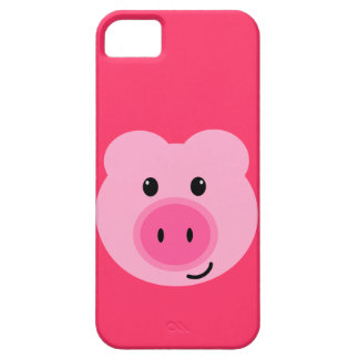 Cute Pink Pig iPhone 5 Case