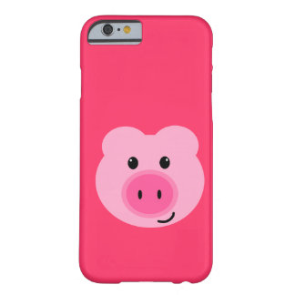 Cute Pink Pig iPhone 6 case Barely There iPhone 6 Case